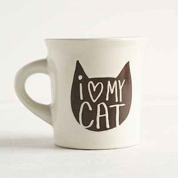 I Heart My Cat Mug - Urban Outfitters