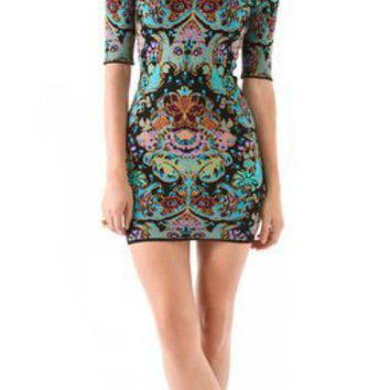 Torn by Ronny Kobo Casey Parisian Folklore Dress | SHOPBOP