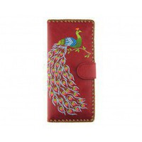 Red Peacock Wallet