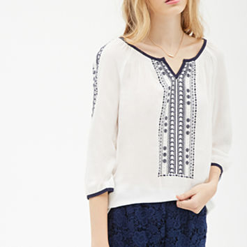 Prairie Embroidered Tunic