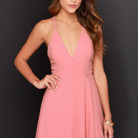 LULUS Exclusive Dream About Me Blush Pink Dress