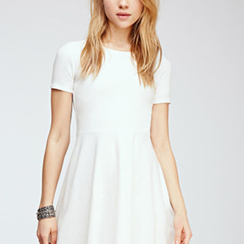 Fit & Flare Tee Dress