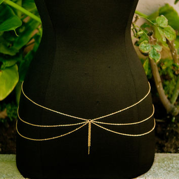 Gold Gracious Belly Chain – Gold Soul