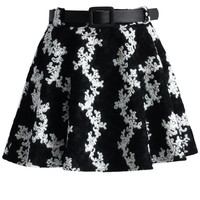 The Edelweiss Belted A-line Skort