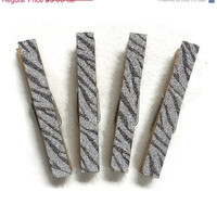 ON SALE Zebra Print Magnets, Clothespin Magnets
