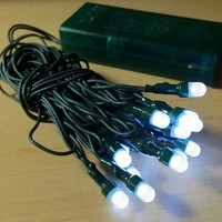 Light Up Your Ugly Christmas Sweater with Battery Operated LED Light Kit (White)