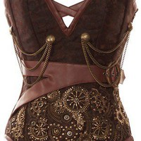 Brocade Overbust Corset