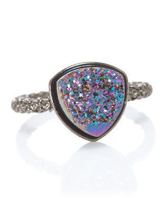 CUSP | Accessories | Jewelry | All Jewelry | Nadia Triangular Disco Ball Ring (Stylist Pick &amp; Cusp Most Loved!)