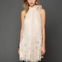 Free People Tulle Paillette Sleeveless Dress