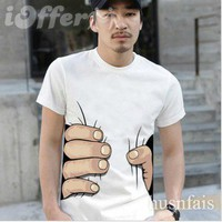 iOffer: &quot;i catch you&quot; 2012 new men&#x27;s T-shirt women&#x27;s T-shirt  for sale