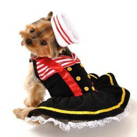 Sweetheart Sailor Dog Costume for Halloween
