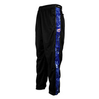 Los Angeles Clippers Big & Tall Zipway Blue Print Track Pants - Royal Blue - http://www.shareasale.com/m-pr.cfm?merchantID=7124&userID=1042934&productID=526700613 / Los Angeles Clippers