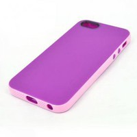 buy cheap Superlight Purple and Pink Color Combination Protective Case for iPhone 5 wholesale on China Gadget Land
