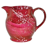 Plum Lustreglaze Boxed 1.5 Pint Jug, Emma Bridgewater. Shop more from Emma Bridgewater exclusive collection online at Liberty.co.uk