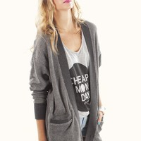 Jack By BB Dakota Eddie French Terry Cardigan | MessesOfDresses.com