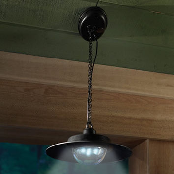 The Solar Ceiling Light - Hammacher Schlemmer