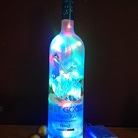 Grey Goose Vodka Upcycled Bottle Light-Multi LED