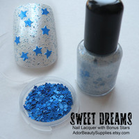 Sweet Dreams Bonus Pack Nail Polish 8ml and Blue Stars Vegan