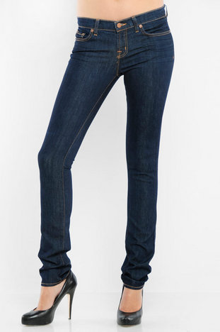 "J Brand 12"" Lowrise Pencil Leg Lightweight Jeans - 91210 in Ink $94"