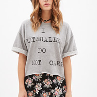 Do Not Care Sweater