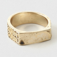 Engraved Ring - Topman