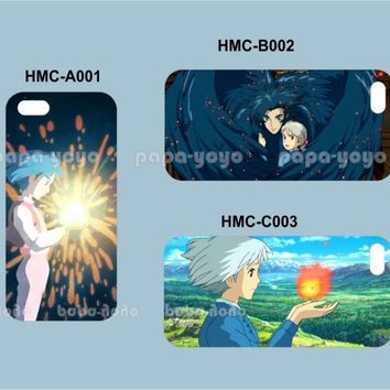 howl's moving castle Studio Ghibli Hard Case iPhone 4 4S 5 5S 5C iphone4 iphone5
