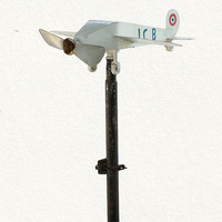 terrain: Airplane Weathervane
