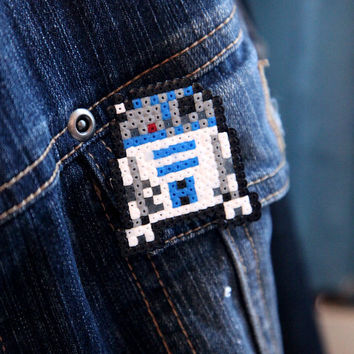 Star Wars R2-D2 Pin Fan Art Brooch Accessory