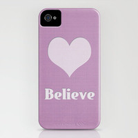 Believe iPhone Case by Around the Island (Robin Epstein) | Society6
