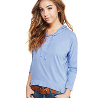 Super Soft Hooded Tee | Wet Seal