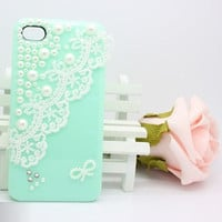 The Pearl Lace shell iphone 4 iphone 4s case
