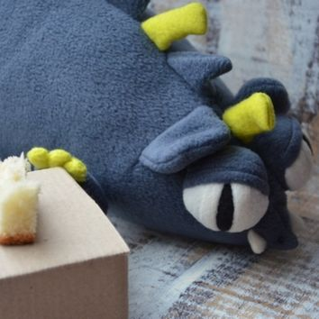 Monster Rat Soft toy Grey Stuffed toy Mouse