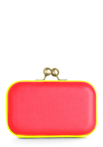 Hit the Dance Floor-escent Clutch | Mod Retro Vintage Bags | ModCloth.com