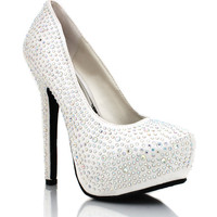embellished-satin-platforms WHITE - GoJane.com