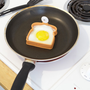 Toast Shaped Egg Molder | Toast Top Egg Shaper | fredflare.com