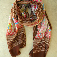 Enchanted Bohemian Scarf [3256] - $18.00 : Vintage Inspired Clothing &amp; Affordable Summer Dresses, deloom | Modern. Vintage. Crafted.