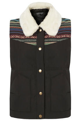 Aztec Padded Gilet