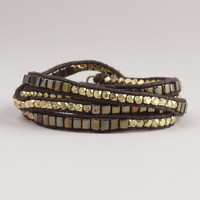 Metallic Gold Wrap Bracelet | World Market