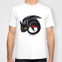 Toothless T-shirt by Annie Pollock