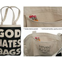 God Hates Bags : Revel & Riot LGBTQ merchandise and gay rights graphic t-shirts | Revel & Riot