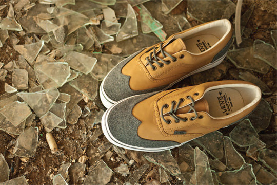 Vans California Fall 2011 Era Wingtip CA Sneaker 'Wool Pack'