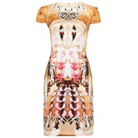 mytheresa.com -  Mary Katrantzou - CAP A CAKE FLAKE PRINT SILK DRESS - Luxury Fashion for Women / Designer clothing, shoes, bags