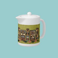 Tiki Party Teapot from Zazzle.com