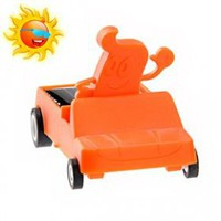 buy cheap Lovely Cartoon Solar Mini Jeep (Orange) wholesale on China Gadget Land