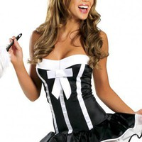 Sensuous Maid Costume for sexy looks  - Costume