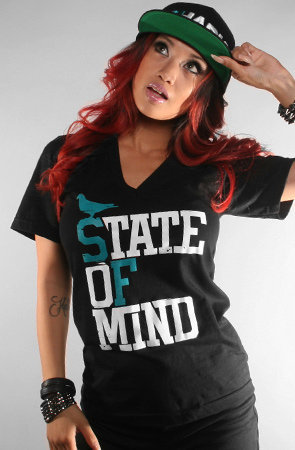 The State of Mind V-Neck