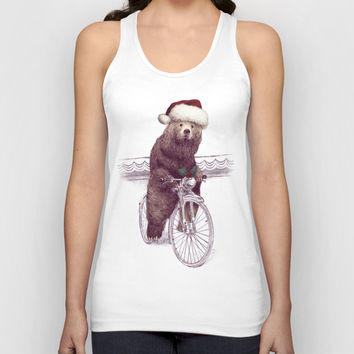 A Barnabus Christmas Unisex Tank Top by Eric Fan