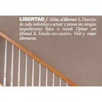 ADZif Blabla Libertad (Spanish) Wall Decal - T3118-SP - All Wall Art - Wall Art &amp; Coverings - Decor