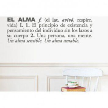 ADZif Blabla Pasión (Spanish) Wall Decal - T3108-SP - All Wall Art - Wall Art & Coverings - Decor