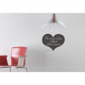 ADZif Blabla Love without Measure (English) Wall Decal - T3123-EN - All Wall Art - Wall Art & Coverings - Decor